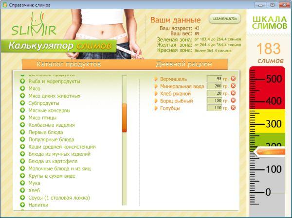Быстрое снижение веса похудение